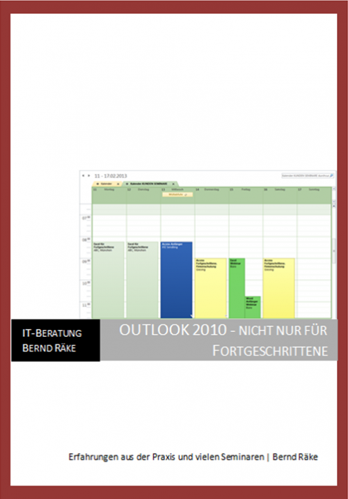 Seminar Outlook