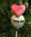 Kugel mit Herz