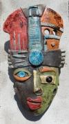 Maske Picasso in Peru (4) schwarz
